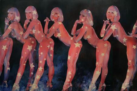 Dыставка живописца Сергея Калинина Le moulin в галерее «Триумф»