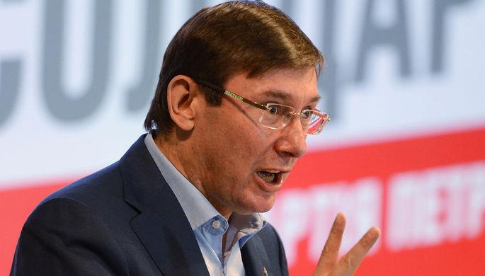 Генпрокурор Украины связал задержание экс-главы Генштаба с «аннексией Крыма»