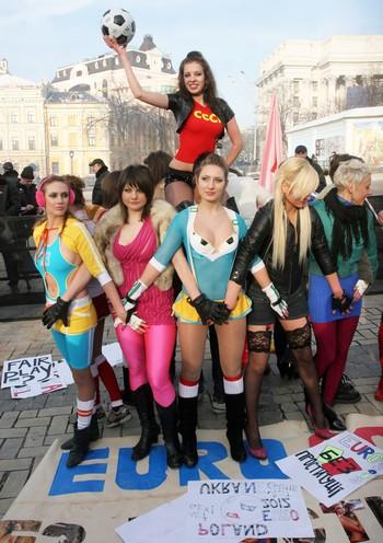 МИД Украины возмущен голландскими призывами не ехать на Евро из-за красивых украинок