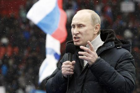 Новогоднее обращение президента России Владимира Путина ...