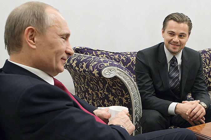 Путин о ди Каприо: «Настоящий мужик»