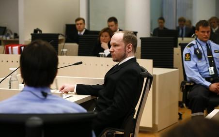 Третий день судебного процесса над Андерсом Брейвиком