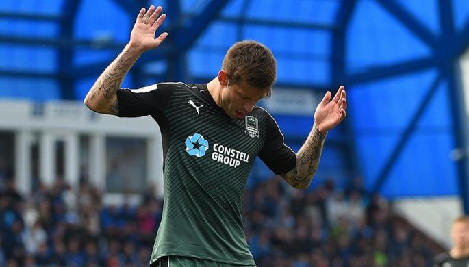 УЕФА дисквалифицировал Смолова наодин еврокубковый матч