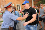В Пугачеве начался митинг, жители недовольны поддержкой со стороны националистов