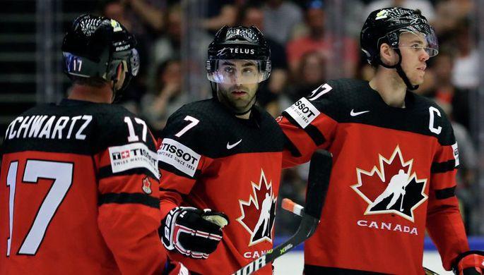Сборная Канады похоккею потерпела 2-ое поражение начемпионате мира, уступив финнам