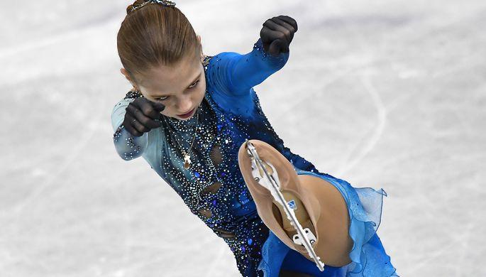 Фигуристка Трусова триумфально выигралаЧМ юниоров— Сверхновая звезда