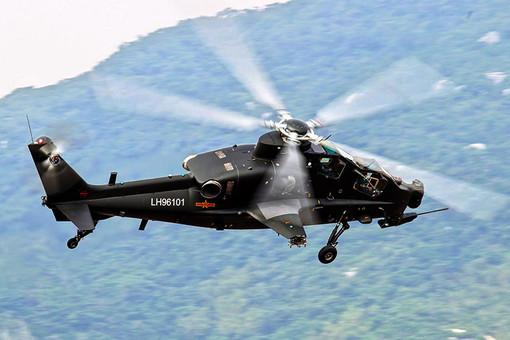 Китайский ударный вертолет WZ-10 построен по российскому проекту 941, разработанному в 1995 году