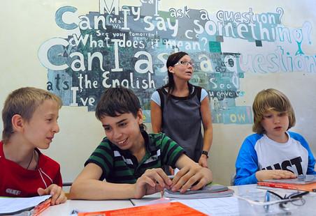 урок английского языка в детском саду знакомство