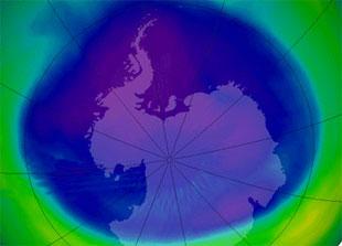 Озоновая дыра над Антарктидой изменила климат в Южном полушарии Земли