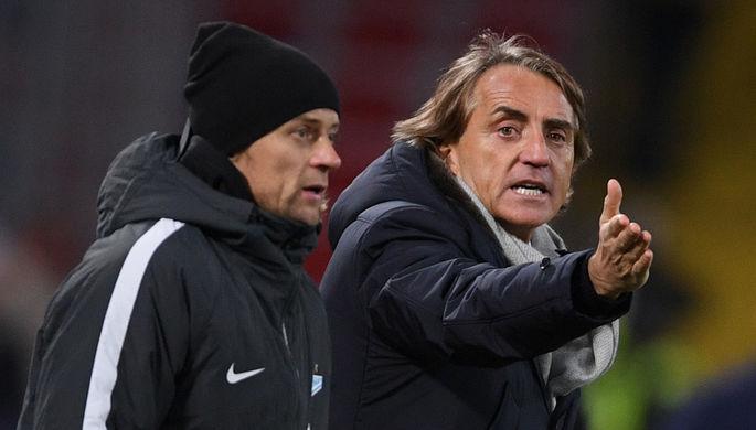 Манчини прокомментировал отсутствие голов уКокорина впоследних матчах
