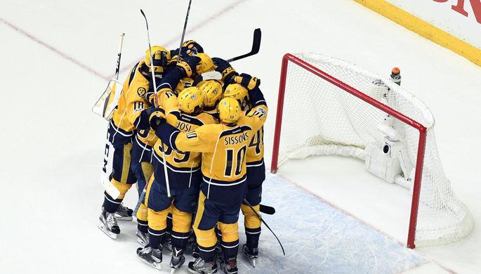 НХЛ: «Нэшвилл» разбил «Ванкувер», победы «Далласа» и«Оттавы»