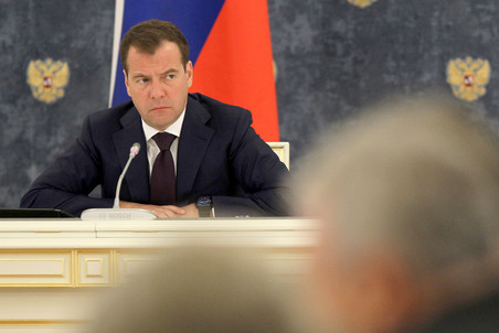 Medvedev slams officials for space failures &mdash; Gazeta.Ru 
