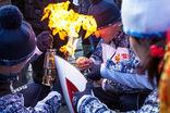 Почему гаснет олимпийский факел, «Газете.Ru» рассказал сотрудник службы сопровождения олимпийского огня