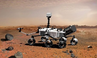 ��� ����� ��������� Curiosity �� ����������� ����� // NASA