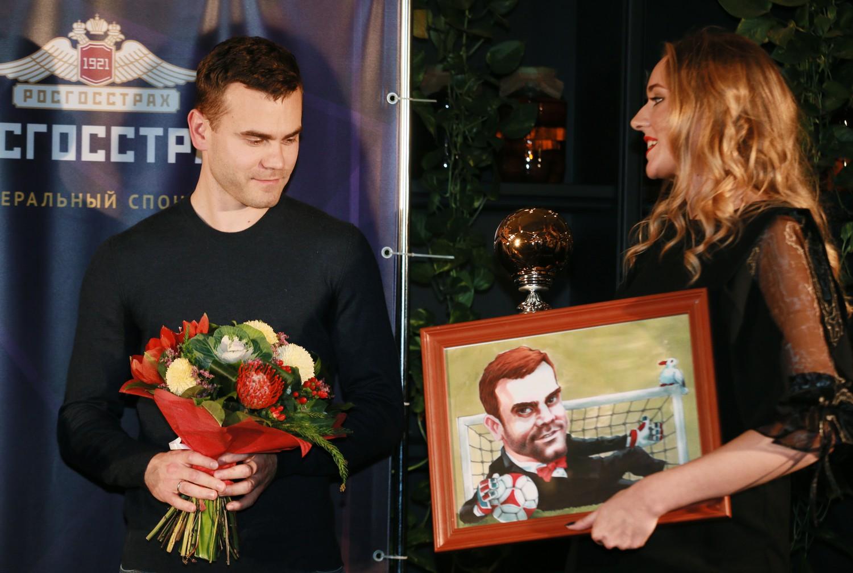 Акинфееву вручена награда «Джентльмен года»