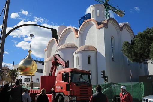В Мадриде завершается строительство первой русской православной церкви