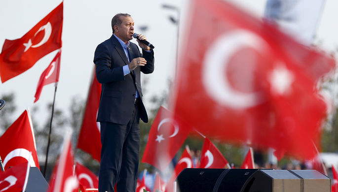 Эрдоган иТрамп поговорят окурдах