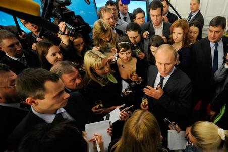 Владимира Путина обвинили в нарушении правил ведения предвыборной агитации