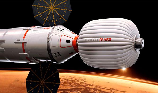полета к Марсу в 2018mdash