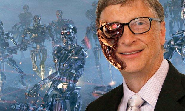 Билл Гейтс опасается, что искусственный интеллект уничтожит человечество