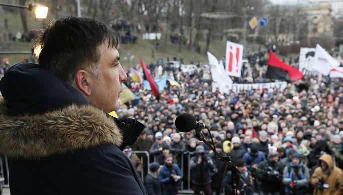 Народный депутат  объявил  озадержании Саакашвили спецназом