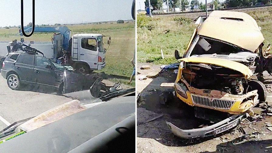 4 человека погибли и12 пострадали вДТП вКраснодарском крае