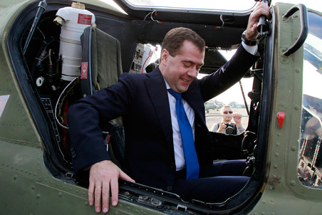 Putin and Medvedev to commute over Moscow traffic jams by air  &mdash; Gazeta.Ru 