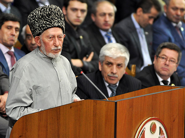 Дагестанский религиозный деятель Саид Афанди аль-Чиркави. Фотография: Сергей Расулов/ NewsTeam