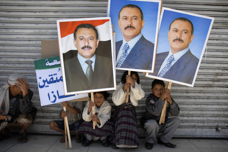 Президент Йемена подписал договор с оппозицией о передаче власти вице-президенту Абду Рабу Мансуру Хади
