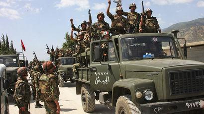 Армия Сирии объявила о начале массированного наступления