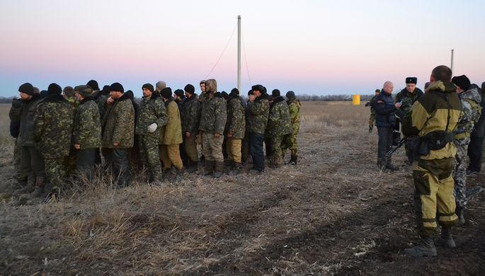 ЛНР отправила пленных кместу обмена