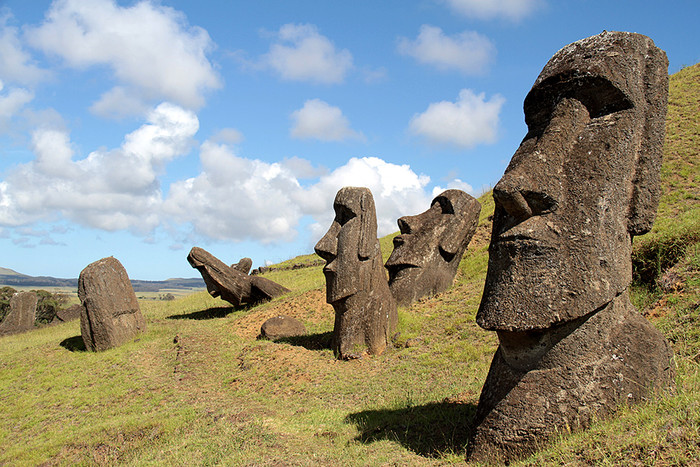 Разгадано предназначение статуй наострове Пасхи