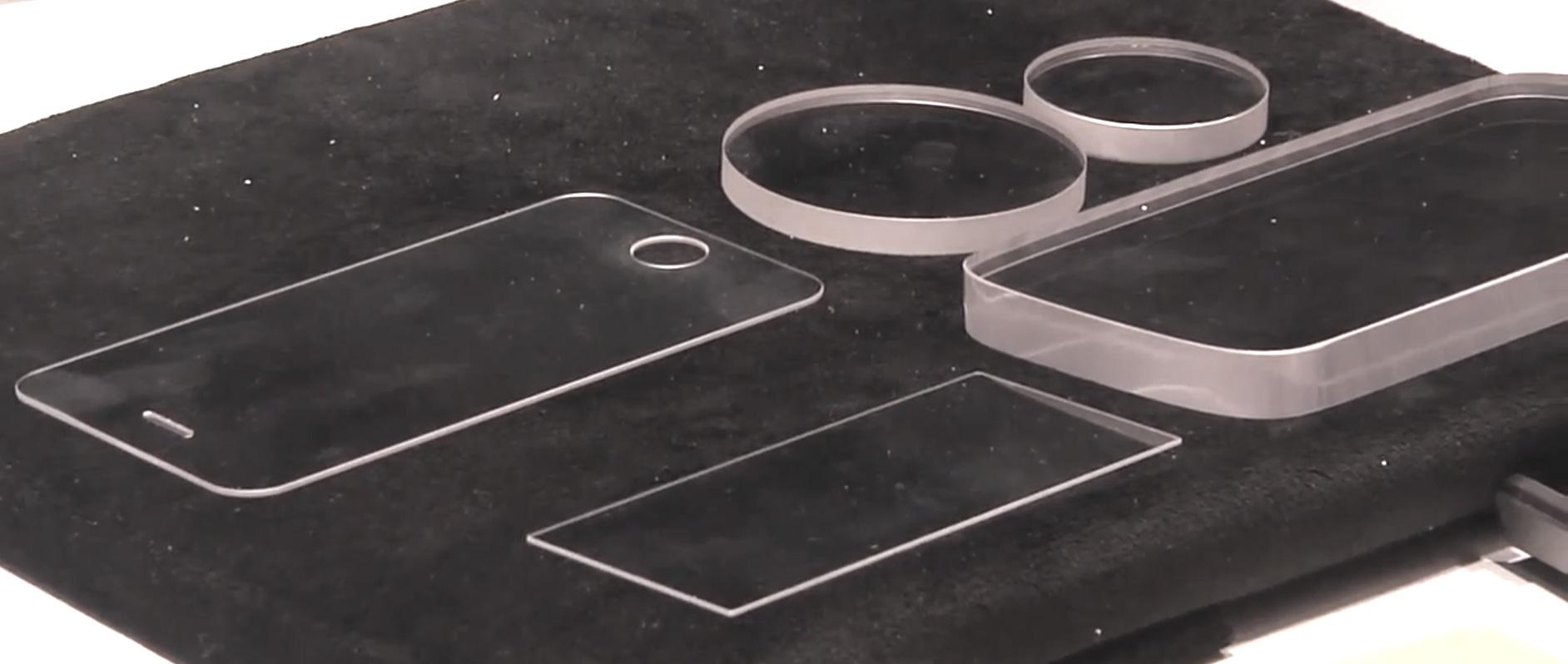 Стекло с покрытием из синтетического сапфира для iPhone