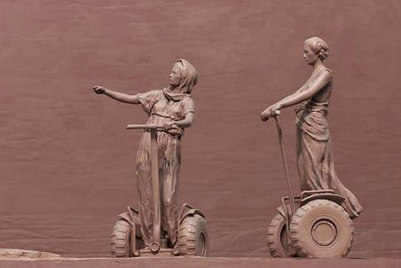 В Русском музее проходит выставка скульптора и художника Алексея Морозова