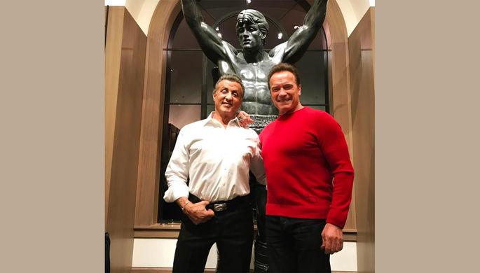 Сильвестр Сталлоне купил статую Рокки за 400 тыс. долларов