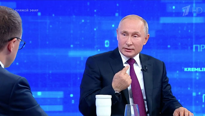 Путин объявил о индивидуальной ответственности министров занацпроекты