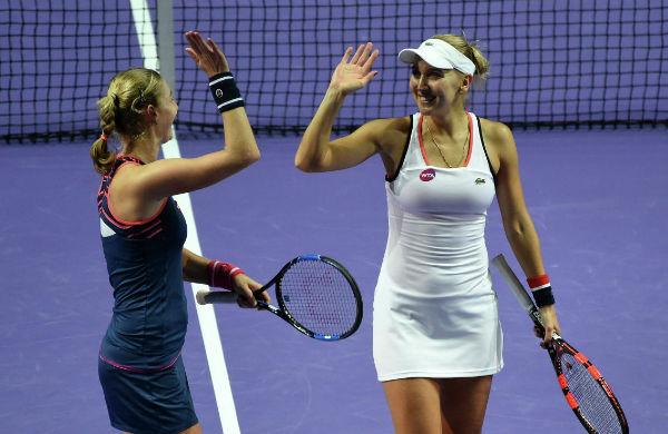 Макарова иВеснина преодолели барьер 2-го круга Australian Open впарном разряде