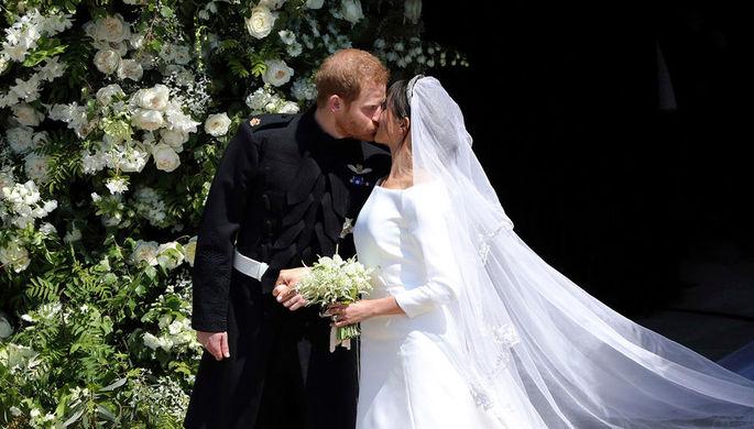 Меган Маркл после свадьбы спринцем Гарри получила собственный герб