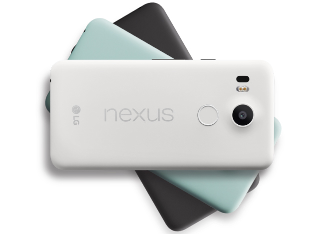 Варианты корпусов нового Nexus