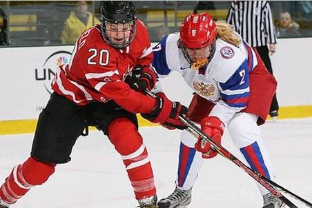 Россиянки проиграли сборной Канады 1:14 на ЧМ по хоккею