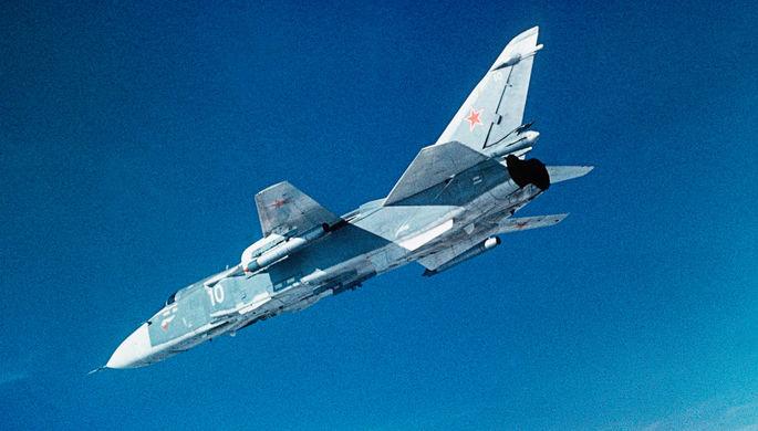 ВМинобороныРФ опровергли сообщение оперехвате Су-24 над темным морем