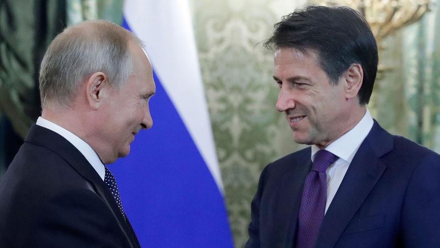 Премьер Италии назвал антироссийские санкции устаревшим инструментом