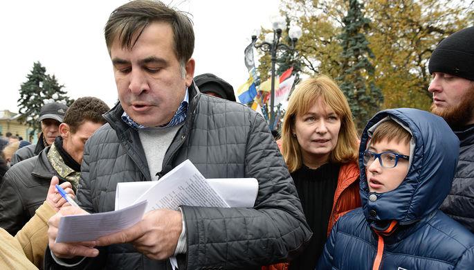 Саакашвили пообещал отправить Порошенко втюрьму