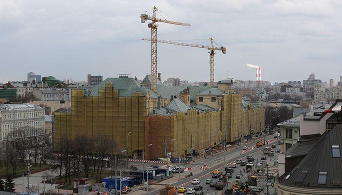 УПолитехнического музея в столице России случилось обрушение грунта, умер рабочий