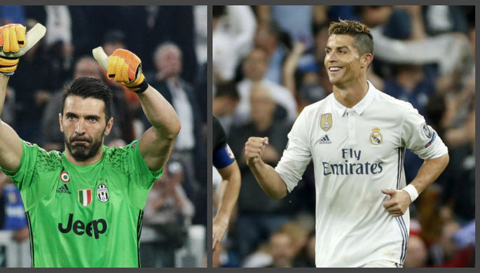 Роналду забил через себя Буффону ипомог «Реалу» разгромить «Ювентус»