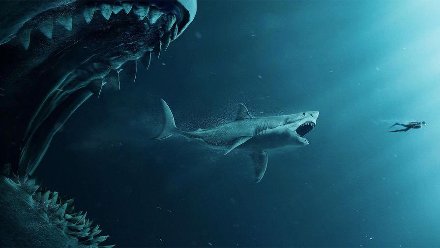 Триллер «Мег: Монстр глубины» вторую неделю лидирует впрокате