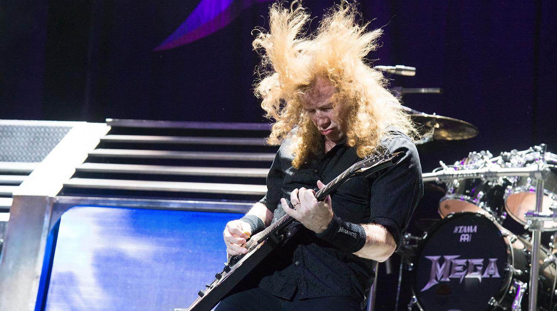 Улидера группы Megadeth отыскали рак горла