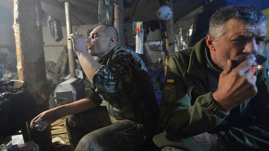 Украинский военный в пьяной драке выстрелил в сослуживца в Донбассе