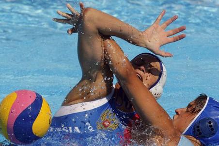 Женское водное поло- зрелищный вид спорта