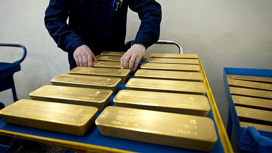 ЦБРФ пятый год лидирует потемпам наращивания золотого запаса